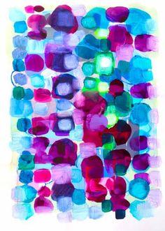 "Saatchi Art Artist Vanessa Stelling; Painting, ""complimentary"" #art"