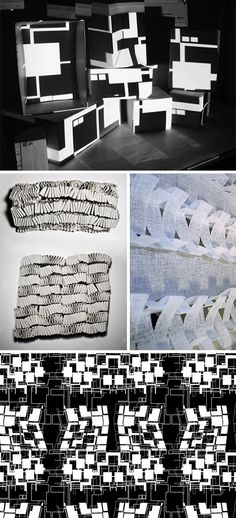 Phuong Thuy Nguyen #patternpulp Geometry and Spatial Design