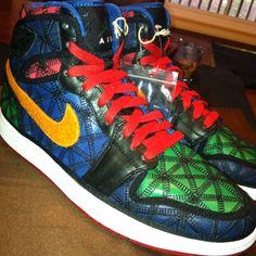 new products a854e 9afbc Nike Air Jordan Retro I 1 FILBERT J2K CERAMIC HIGH SAMPLE sz 9 xi JOKER HI V