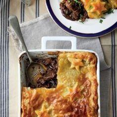 Skaapvleis-en-sampioenpastei Dessert Recipes, Desserts, Vegetable Pizza, Quiche, Mashed Potatoes, Meat, Dinner, Vegetables, Breakfast