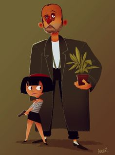 Leon and Mathilda by Avner Geller