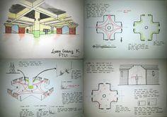 Ruang Aktivitas Manusia di Lobby Gedung K FTUI