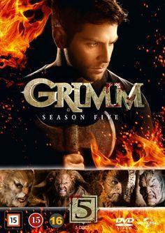 Grimm - Kausi 5 (5 disc)29,95€
