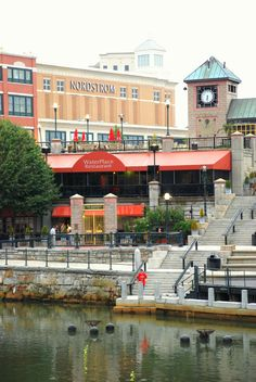 Waterplace Park Restaurant Providence, RI #VisitRhodeIsland