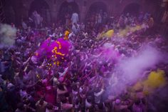 Religious Holidays 2015: An Interfaith Calendar (ChristianMar 6 - Holi (Hindu) Hindu devotees play with coloured powders during Holi celebrations at the Bankey Bihari Temple in Vrindavan, India. Holi, the spring festival of colours, is celebrated by Hindus around the world in an explosion of colour to mark the end of the winter., Hindu, Jewish, Muslim And More) (PHOTOS)