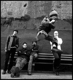 Radiohead, New York City, 1997. Danny Clinch. Archival pigment print.