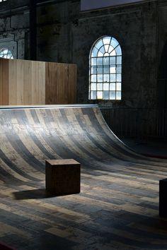 skate ramp   @SingleFin_