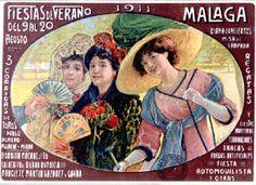 1911 Carteles de la Feria de Málaga