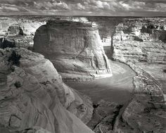 Canyon de Chelly, monumento nazionale, Arizona - Ansel Adams, my favorite landscape photographer.