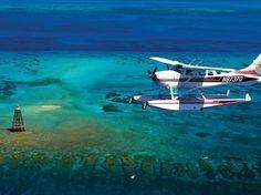 Florida Keys, puddle-jumper plane