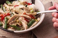 Thai Green Curry Chicken Thighs