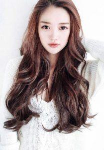 Model Potongan Rambut Panjang Wanita Korea Modelemasterbaru Gaya Rambut Sedang Gaya Rambut Panjang Potongan Rambut Panjang