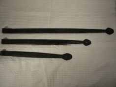 Antique hinges wrought iron colonial strap by hoarderwithnoborder, $40.00