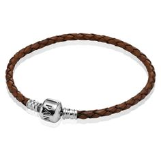 d0864c47d Buy Online Pandora Coffee Single Braided Leather Bracelet from Reliable Online  Pandora Coffee Single Braided Leather Bracelet suppliers.