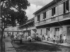 """The Philippines: """"Then and Now"""" Photos - Compiled Threads Pardon me if this site has been posted already. Antique Photos, Old Photos, Philippine Architecture, Intramuros, Philippines Culture, Old Buildings, Pinoy, Plaza, Manila"""