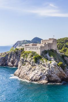 Lovrijenac Fort. Dubrovnik – UNESCO World Heritage Site. Croatia