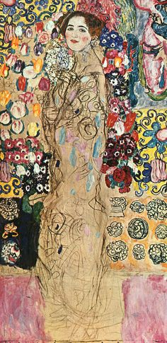 Klimt-Portrait-of-a-Lady,-unfinished,-1917-18,-oil-on-canvas.jpg 389×800 pixels