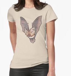 Grey long-eared bat by HenriekeG Camiseta Clássica 252abd6c55f