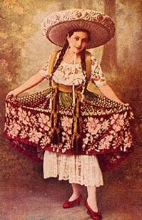 Mexican costume, 1920s