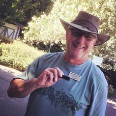 When Terry does winery tours, he racks up at least 11K with his Fitbit One!