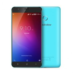 BLACKVIEW E7 MTK6737 1.3GHz Quad Core 5.5 Inch 2.5D HD Screen Android 6.0 4G LTE Smartphone Blue - Mobile Phones - Wholesale Electronics on AntElife.com - #Antelife - #Android - #Sale