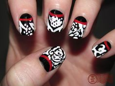 Black and White and Red All Over