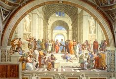 School of Athens classroom decoration for world history class