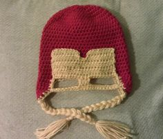 Iron man inspired hat with optional ties custom by megscutekidshop, $20.00