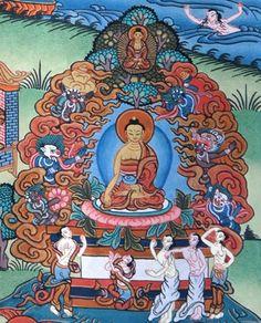 mara versucht buddha zu verleiten