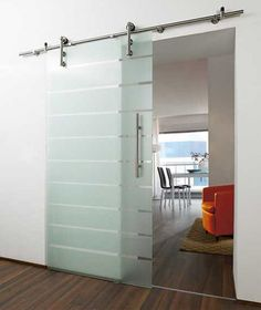 Beautiful sliding glass door will look great in any home or office.