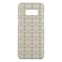 Elegant Faux Gold Foil Damask Pattern Case-Mate Samsung Galaxy S8 Case - pattern sample design template diy cyo customize