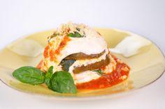 the chew | Recipe | Michael Symon's Microwaved Eggplant Parmesan