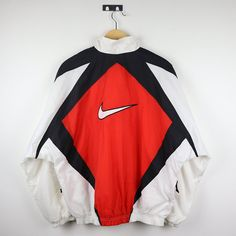 Your place to buy and sell all things handmade : Rare Vintage NIKE Windbreaker Shell Spary Colorway Multi Color Block Jacket / Retro Old school Streetwear Hip Hop Rap Hypebeast Hipster Outfits, 90s Hip Hop Outfits, Swag Outfits, Streetwear Jackets, Streetwear Mode, Streetwear Fashion, Vintage Outfits, Retro Outfits, 90s Fashion