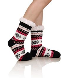 #DoSmart #Womens #Winter #Thermal #Snowflake #Fleece #Lining #Fuzzy #Warm #Indoor #Home #Socks PREMIUM QUALITY SLIPER SOCKS: At #DOSMART we aim to provide our customers with the best quality possible. These #socks are made of 94% Polyester, 6% Spandex . Extra thick #thermal #Fleece #Lining, Super comfortable and extremely warm! BREATHABLE: #DOSMART Non-skid bottom #home #socks are very much breathable. This breathable nature makes the sock sweat absorbent, fresh air breathabl