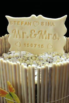 Mr. & Mrs. Schild aus Deco Choc