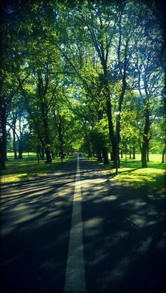 Autumn sun on Middle Meadow Walk, Edinburgh. By @Craig Johns Johns Johns Johns Fish using his #HTCOne #HTCreativity #Autumn