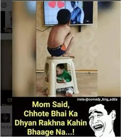 Funny Images Humor Sarcasm New Ideas Funny Baby Memes, Very Funny Memes, Funny Jokes In Hindi, Best Funny Jokes, Funny School Jokes, Cute Funny Quotes, Funny Relatable Memes, Funny Facts, Desi Jokes
