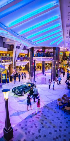 Harmony of the Seas   Life in all colors. The dazzling architecture and colorful scenery on the Royal Promenade make every stroll through Harmony of the Seas a dynamic visual experience. Cruise with Royal Caribbean on Harmony of the Seas for a once-in-a-lifetime adventure.