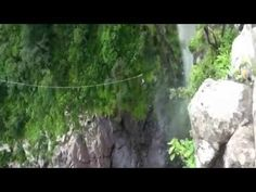 My boyfriend and I road tripped to Oribi Gorge and brave this Jump! It was an unbelievable experience down a waterfall! Jumping Gif, Abseiling, My Road Trip, Suspension Bridge, Extreme Sports, Rafting, South Africa, Waterfall