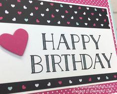 Big on Birthdays, Pop of Pink Specialty Designer Series Paper, Stampin' Up!, Brian King, birthday card