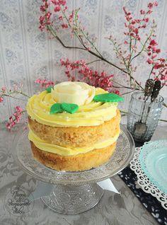 Cookcakes de Ainhoa: EL INVITADO DEL MES: NUNCA ES DEMASIADO DULCE. LAYER CAKE DE LEMONCELLO