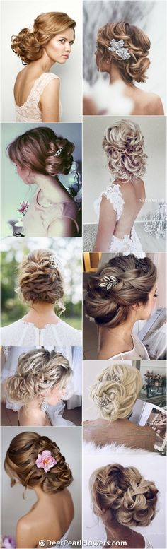 1000+ Perfect Long Wedding Hairstyles with Glam / http://www.deerpearlflowers.com/wedding-hairstyles/