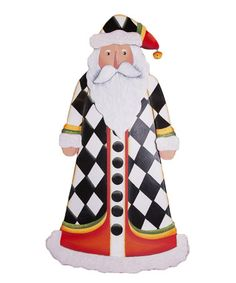 Look at this #zulilyfind! Diamond Santa Statue #zulilyfinds