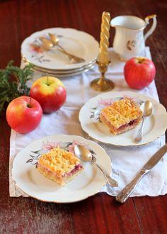 Polish Strawberry and Apple Pie