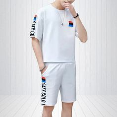 ://lztees.com/product/mens-sport-suit-fashion-street-wear-printing-t-shirts-men-and-casual-hip-hop-jogger-harajuku-shorts-men/ Jogger Shorts, Joggers, Tracksuit Set, Suit Fashion, Streetwear Fashion, Harajuku, Hip Hop, Street Wear, Printing