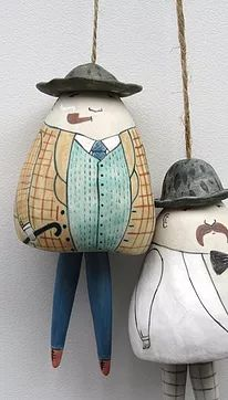 Porcelain Ceramics, Ceramic Pottery, Pottery Art, Ceramic Painting, Ceramic Art, Hand Built Pottery, Pottery Sculpture, Ceramic Animals, Ceramic Flowers