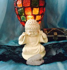Baby Buddha Figurine white baby figurine by TriquetraBoutique White Buddha Statue, Meditation Supplies, Baby Buddha, Decor, Art, Art Background, Decoration, Dekoration, Kunst