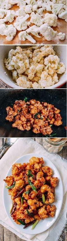 General Tso's Cauliflower Recipe by the Woks of Life