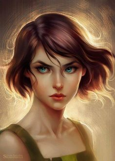 Pretty <3 artist intended it to be korra but I think it looks more like opal o.o