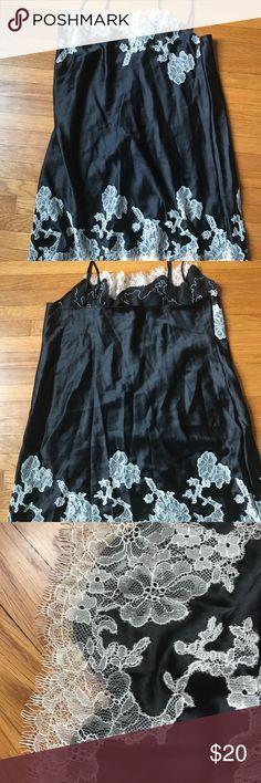 Victoria's Secret Nighty Silk Gown M Brand new without tags Victoria's Secret sexy silk gown. Size M. Adjustable straps. Beautiful lace detail. Victoria's Secret Intimates & Sleepwear Pajamas
